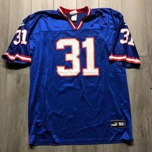 Jason Sehorn New York Giants PUMA NFL Jersey XL